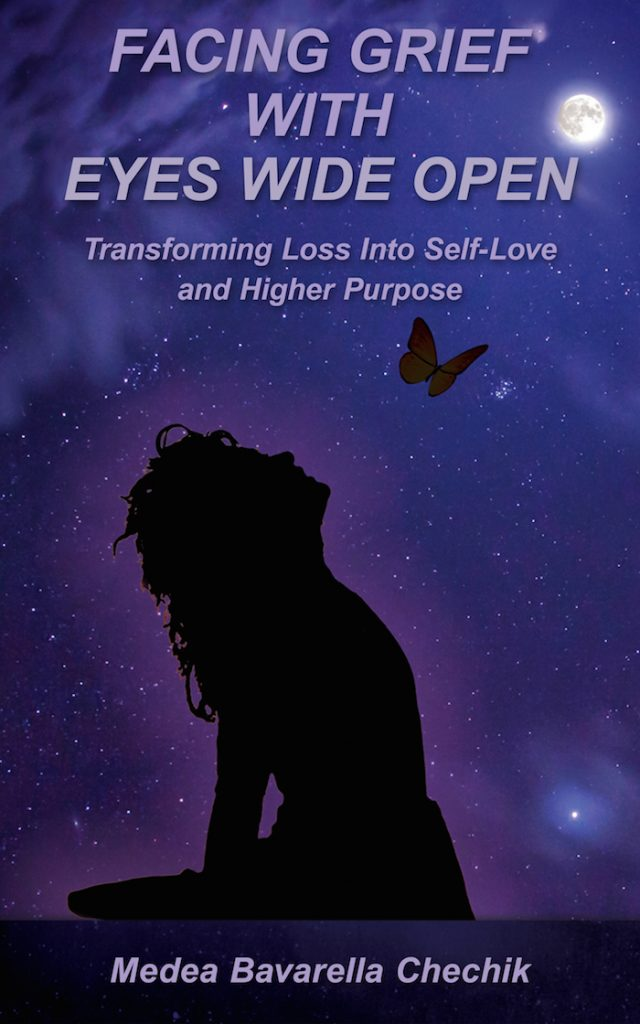 Book Cover - Transforming Loss Into Self-Love and Higher Purpuse